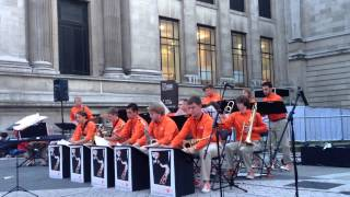 Clemson Jazz Band Performing