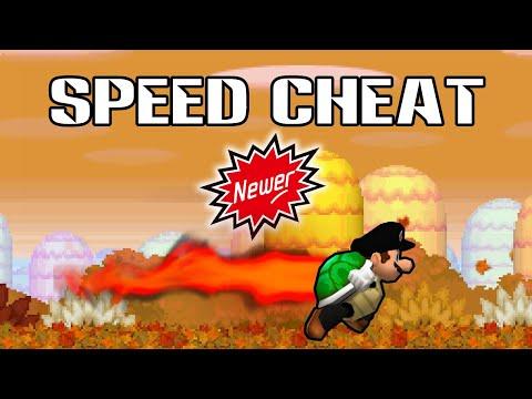 [TAS] Newer Super Mario Bros DS (Speed Cheat) In 24:55.63