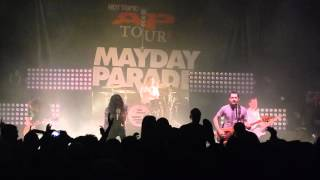 Jersey - Mayday Parade - The AP Tour 2015