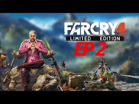 Far Cry 4: Game Play/walkthrough EP2 (ps3) The Wolves' Den