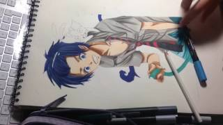 SpeedDrawing : Rin Okumura (ao no exorcist)