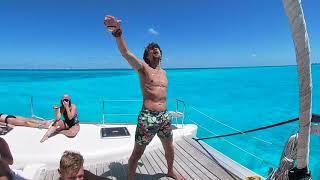 Catamaran Tour Isla Mujeres, Mexico Drone Boat Cinematic