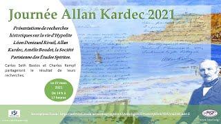 Journée Allan Kardec 27 mars 2021