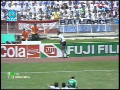 Аргентина-ФРГ.Финал.Чемпионат мира по футболу 1986г.