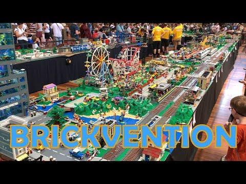 Brickvention Australia 2019 - LEGO Exhibition Tour