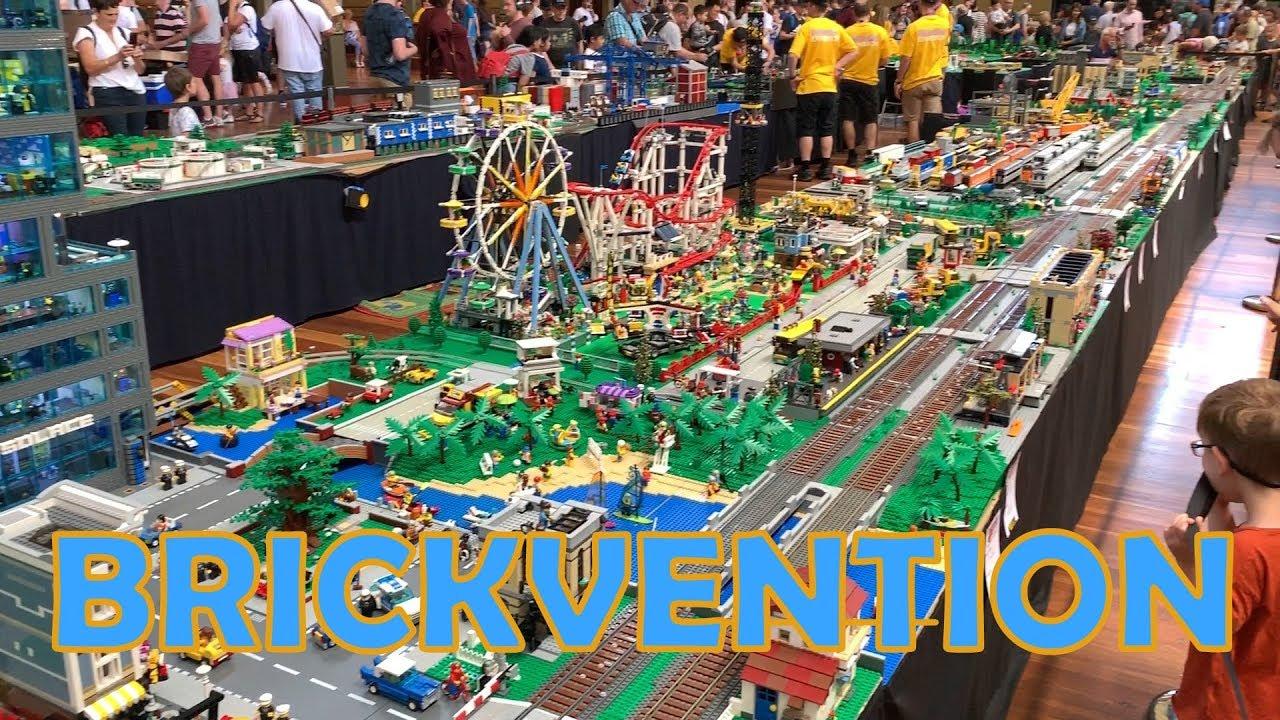 Brickvention Australia 2019 - LEGO Exhibition Tour - YouTube