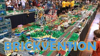 Brickvention Australia 2019 - LEGO Exhibition Tour