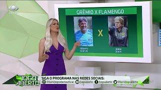Comentaristas analisam cada posição de Grêmio e Flamengo