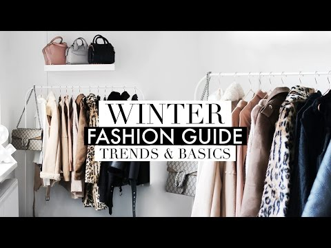 WINTER FASHION GUIDE | Trends & Capsule Wardrobe Basics