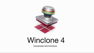 using Winclone 4 with Mac Boot Camp