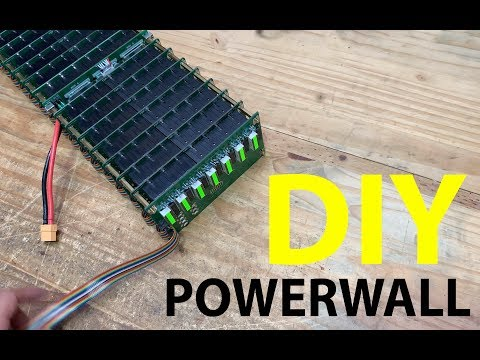 Building DIY Powerwalls using PCBs v1 3 - YouTube