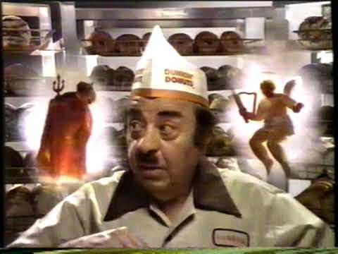 "1987 Dunkin Donuts ""Time to make the donuts"" TV Commercial - YouTube"