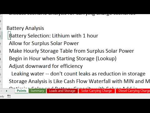 Battery and Storage Analysis – Edward Bodmer – Project and Corporate