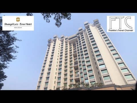 Shangri-La's Eros Hotel New Delhi in 4K - Executive Suite