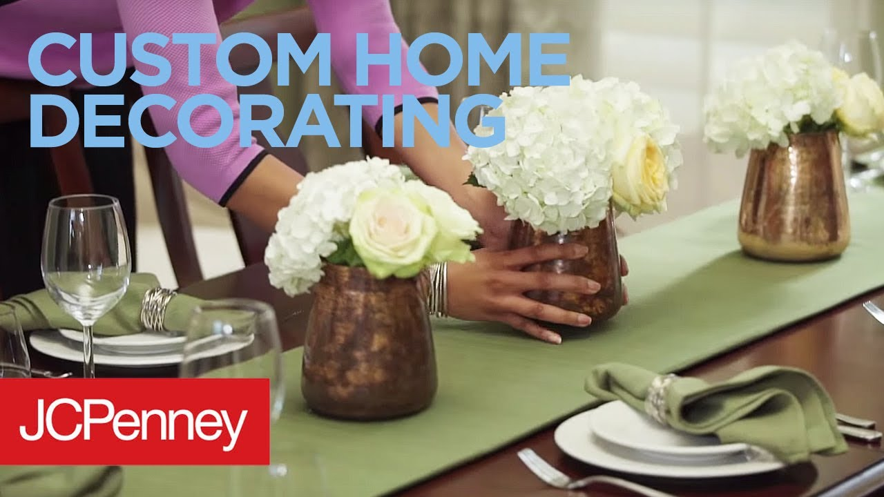 Jc Penney Home Decor: JCPenney Custom Decorating - YouTube
