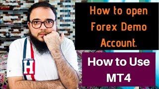 Forex के लिए Demo Account कैसे open करे - how to use mt4 trading platform