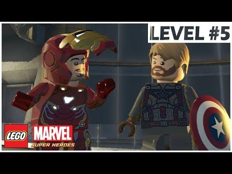IRON MAN (INFINITY WAR) - LEGO Marvel Super Heroes - Walkthrough with MODs - Level 5