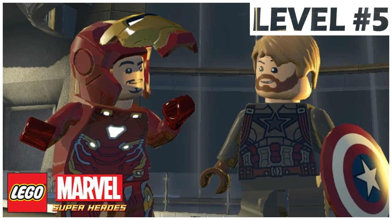 marvel lego level 5 walkthrough