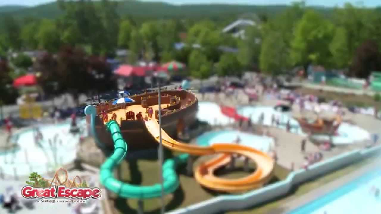 buccaneer beach at the great escape and splashwater kingdom youtube