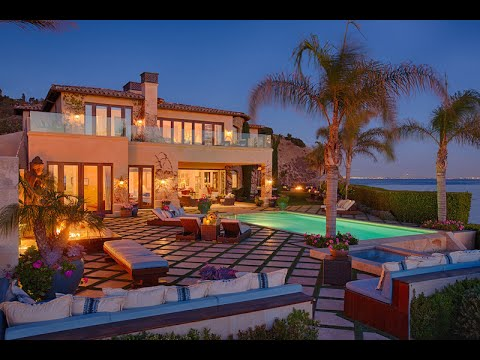 Luxury Malibu Villa.