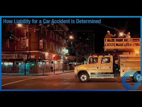 How Liability for a Car Accident is Determined