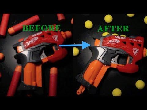 Nerf Mega BIGSHOCK Mod. MAKE IT SHOOT RIVAL ROUNDS!
