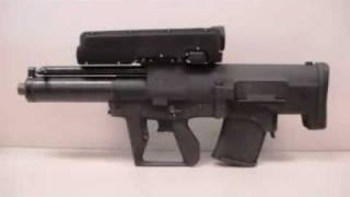 XM-25 Rifle In Action