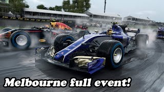 F1 2017 : Practice, Qualifying and Race at Melbourne Raceway!