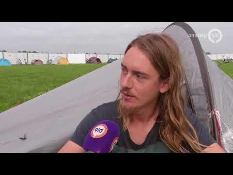 Kamertekort Wageningen, studenten in tenten