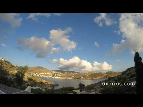 Day at Agalia Luxury Suites - Ios Island Greece - 12h Timelapse - Summer 2016