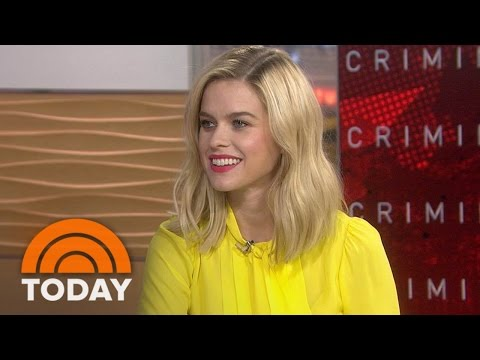 Alice Eve: Criminal Co-Star Kevin Costner Is The Last Cowboy In America | TODAY