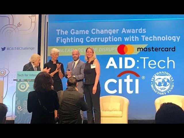 AID:Tech wins Citi Tech for Integrity Global Game Changer Award