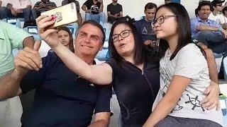 RECEPÇÃO DE JAIR BOLSONARO NO BARRA SHOPPING/RJ