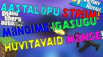 Aastalõpu Striim - Mängime Igasugu Huvitavaid Mänge! | (Eesti Keeles!)