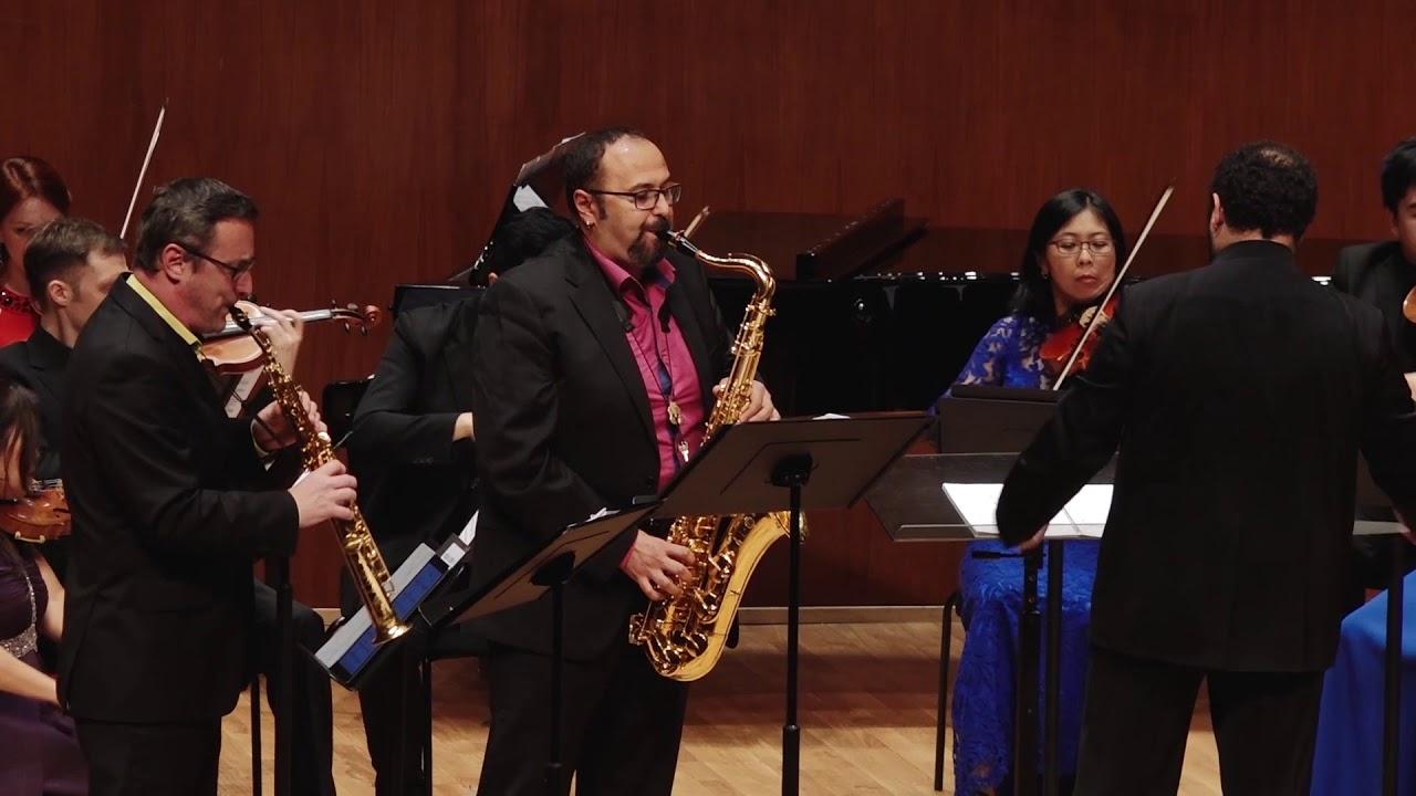 Ferrer Ferran Saxiland, Habanera Saxophone Quartet & CCOHK
