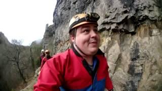 exploring haunted caves