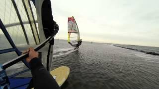 Flat Waters... Windsurfing Herkingen