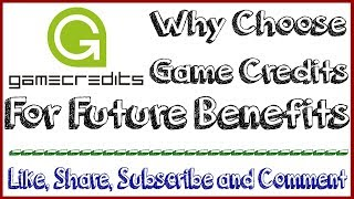 why choose Game Credits For future Buy now and hold for 6 to 9 months