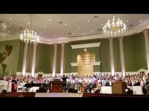 Youthcongress Choir Temple Baptist July 6 2017