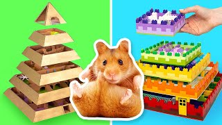 Cool DIY Mazes For Your Hamster
