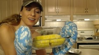 How To Oven-roast Corn-on-the-cob: Cooking With Kimberly