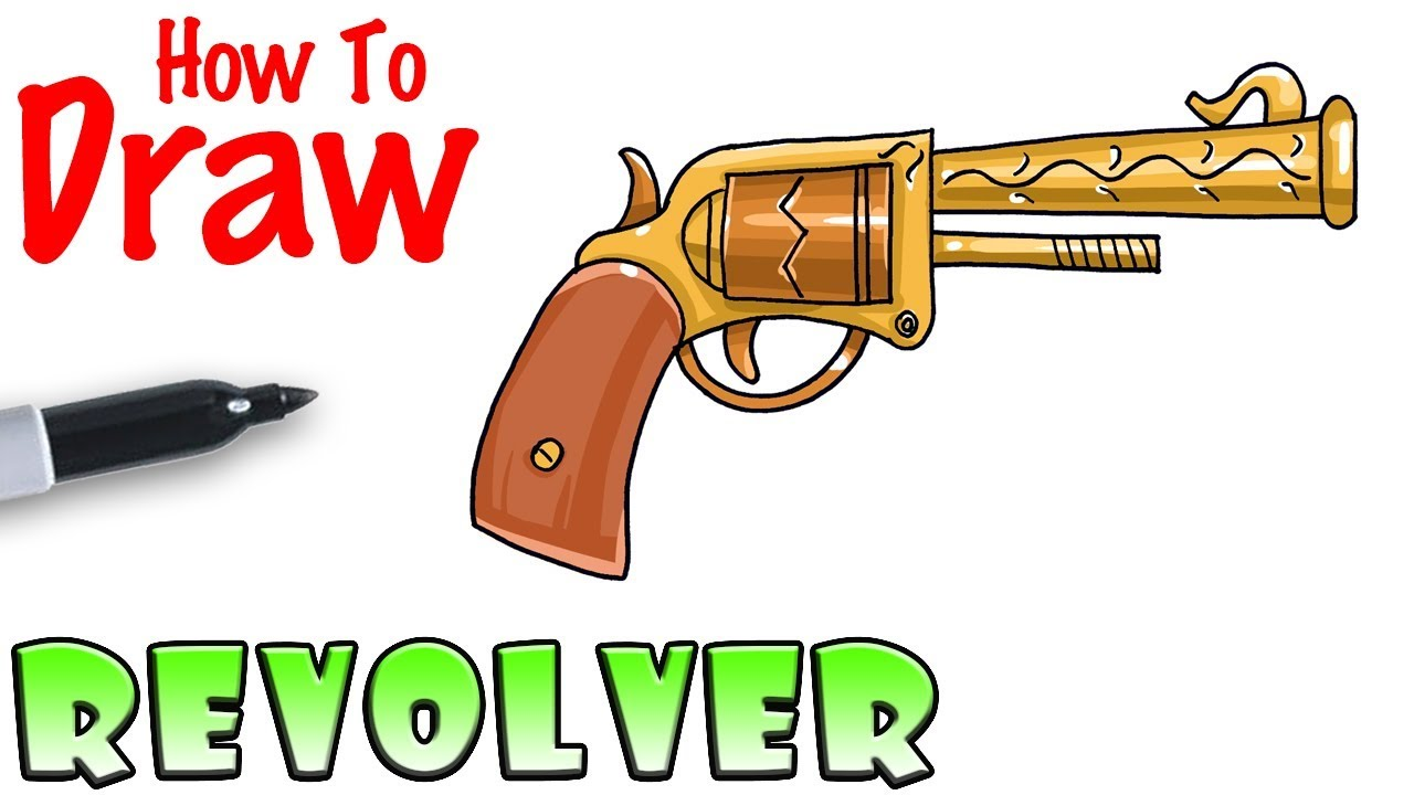 How To Draw The Revolver Fortnite