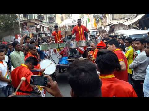 Sarang beats #Banjo Song #Charkopcha raja maghi ganesh Aagaman 26 jan 2016