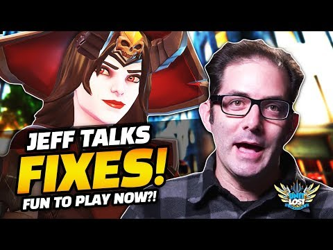 Overwatch - Jeff Talks Skin FIXES! - The BEST Time to Play? - Tracer Dive Meta Thoughts!