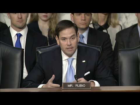 Rubio questions intelligence officials about Russia investigation, Kaspersky Lab, Venezuela, Cuba