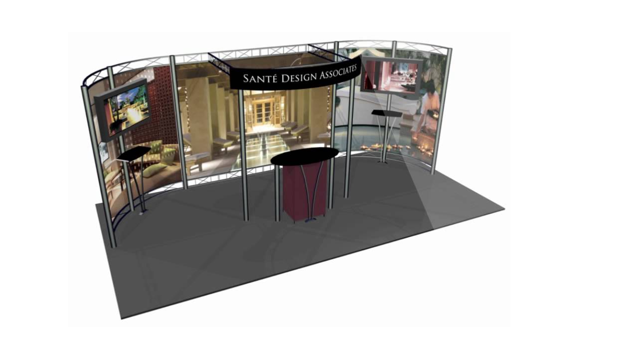 Smash Hit Displays Provides Great Design Ideas For Trade Show Booth