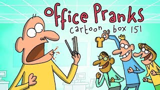 Office Pranks | Cartoon Box 151 | By FRAME ORDER | Funny office cartoons