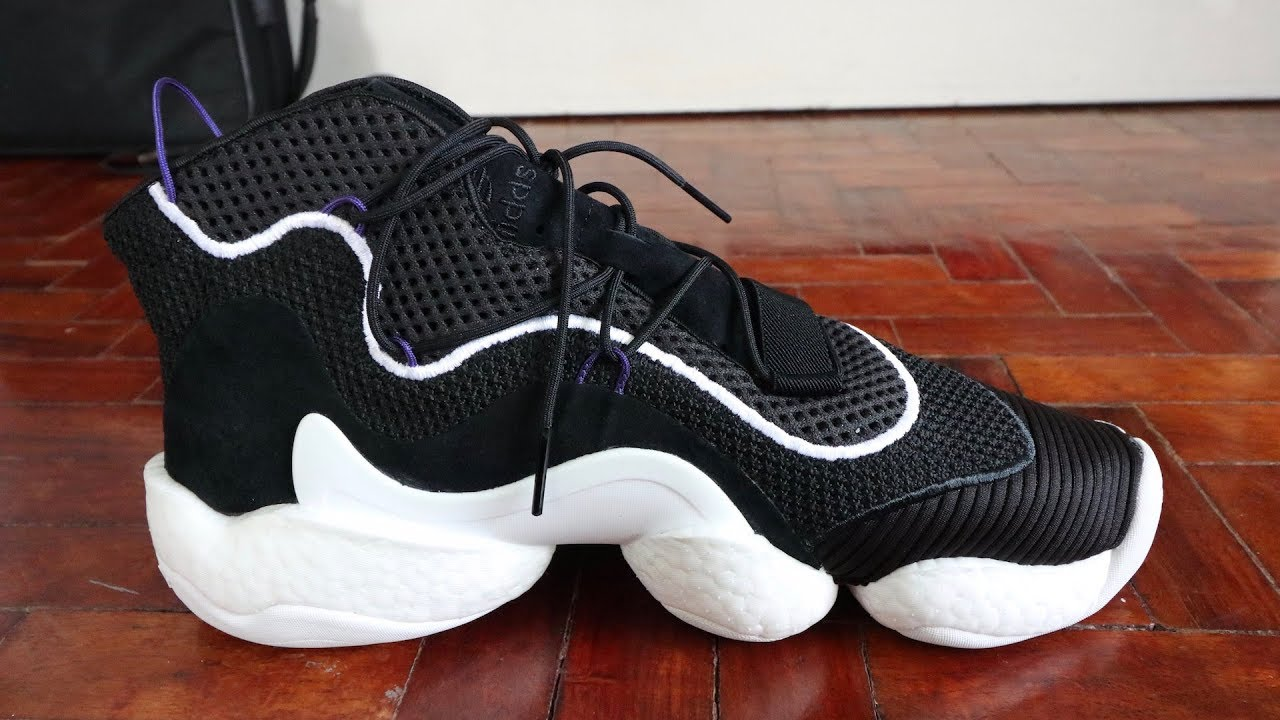 release date 058e1 a6fd7 Sneaker Review adidas Crazy BOOST YOU WEAR Lvl 1