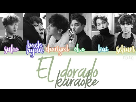 EXO-K - EL DORADO KARAOKE (ENG/ROM/HAN)