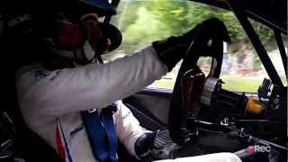 Rallye Mont-Blanc Morzine 2012 Caméra Embarquée Bryan Bouffier